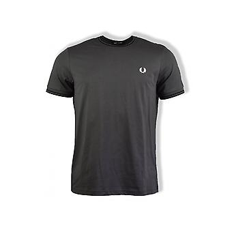Fred Perry Twin Tipped T-Shirt (Gunmetal)
