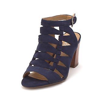 Franco Sarto Womens Grady Fabric Open Toe Casual Strappy Sandals