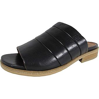 Gentle Souls Womens Gayle Leather Open Toe Casual Mule Sandals