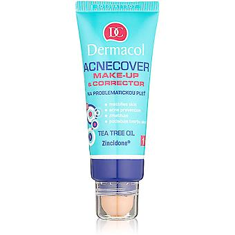 Dermacol Acnecover Make-up & Corrector With Tea Tree Oil 30ml - Choose shade