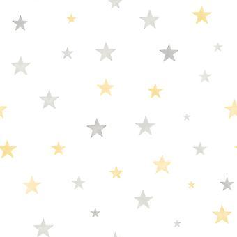 Pequeninos eco Stars wallpaper GranDeco