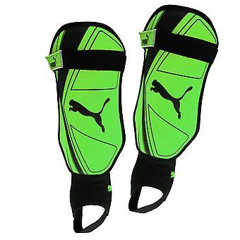 Puma Pro Training 2 Spirit Football Soccer Shinguard + Ankle Protection Green