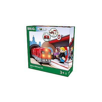 Brio 33513 Brio Metro Railway Set