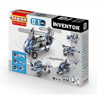 Engino Inventor 12 In 1 AIRCRAFT - Construction Kit