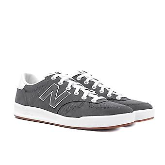 New Balance 300 Castlerock with White Suede Trainers