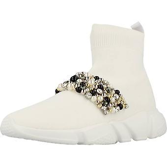 Gele sport/witte kleur uitbraak schoenen