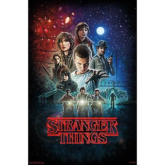 Stranger Things One Sheet Maxi Affiche 61x91.5cm