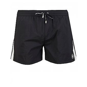 Balmain Swimwear Logo Embroidered Swim Shorts