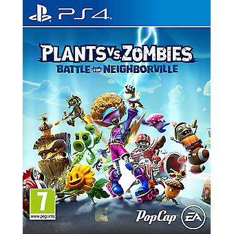 Plants vs Zombies: Battle for Neighborville PS4 Video Game