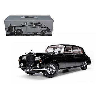 1964 Rolls Royce Phantom V MPW Black 1/18 Diecast Model Car par Paragon