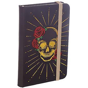 Attitude Clothing Skull & Roses Hardback Notebook