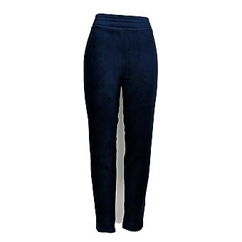 Cuddl Duds Pluss Leggings Fleecewear Stretch Blå A293087