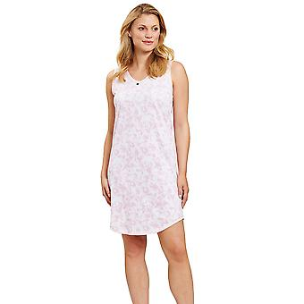 Rosch 1203055-11574 Women's Smart Casual Pink Camouflage Floral Nightdress