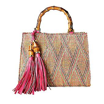 Joe Browns Beach Hut Tassel Bag - Pink Multi One Size Woman
