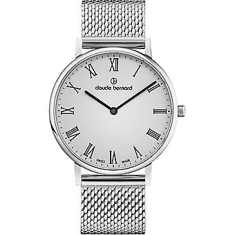 Claude Bernard - Wristwatch - Unisex - Slim Line 41 MM - 20219 3M BR