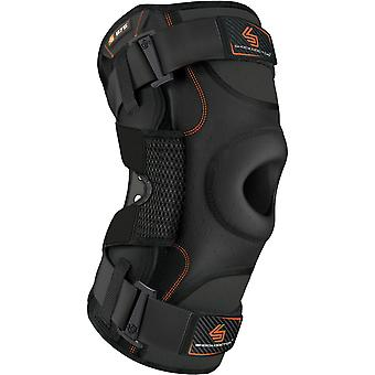 Shock Doctor Ultra Knee Support Brace with Bilateral Hinges - Black