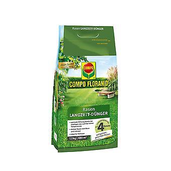 COMPO Floranid® Rasen-Langzeitdünger, 12 kg