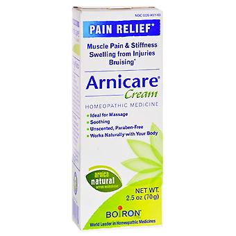 Boiron arnicare cream homeopathic arnica pain relief medicine, 2.5 oz