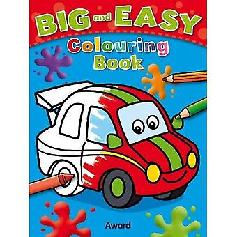 Big & Easy Colouring Book: Car (Big and Easy)