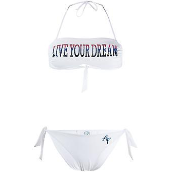 Alberta Ferretti 42021692j0002 Kvinder's Hvid Nylon Bikini