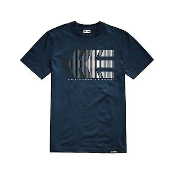Etnies After Burn Short Sleeve T-Shirt in Navy