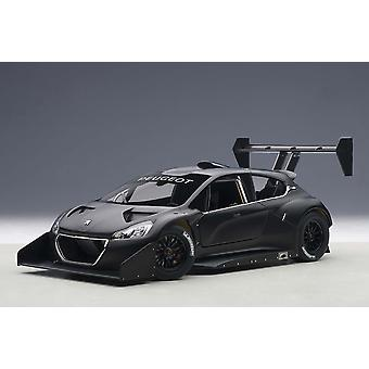 Peugeot 208 T16 Plain Body Version (Pikes Peak 2013) Composite Model Car