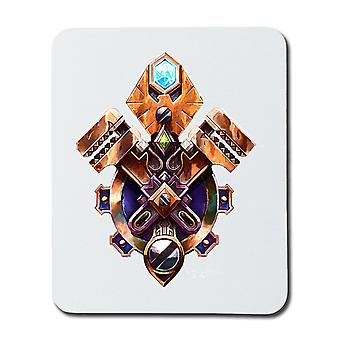 World of Warcraft Gnome Crest Mouse Pad