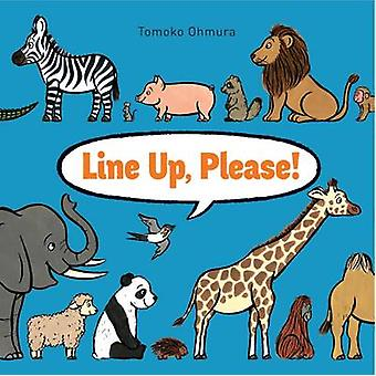 Line Up - Please! by Tomoko Ohmura - 9781877579981 Book