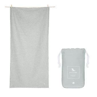 Dock & bay quick dry towel - eco - mountain grey