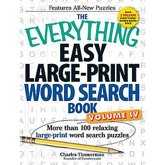 The Everything Easy Large-Print Word Search Book - Volume IV - More Th