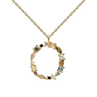 Pdpaola Women's Letter O Plated Necklace