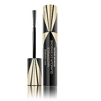 3 x Max Factor Masterpiece Glamour Extensions 3in1 Volumising Mascara 12ml Black