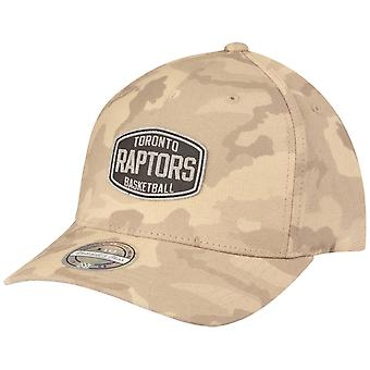 M&N 110 Flexfit Snapback Cap - Toronto Raptors khaki camo