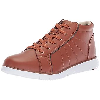 Propét Womens WAT052LTANE-06 Leather Hight Top Lace Up Fashion Sneakers