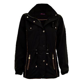 Damska bluza z długim rękawem Smart kurtka płaszcz wodoodporny lekki deszcz