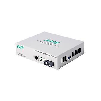 Alloy Poe200Sc Poe Pse Fast Ethernet Media Converter