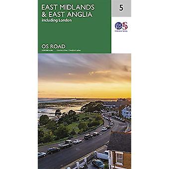East Midlands en East Anglia - 9780319263778 Boek