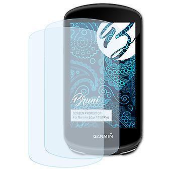 Bruni 2x Pellicola Protettiva compatibile con Garmin Edge 1030 Plus Proteggi Schermo