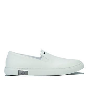 Women's Armani Exchange Slip On en blanc