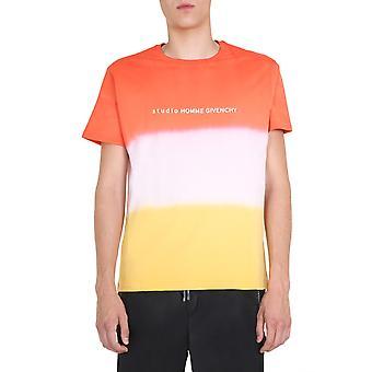 Givenchy Bm70xl3002801 Männer's Orange Baumwolle T-shirt