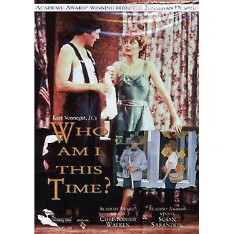 Who Am I This Time [DVD] USA import