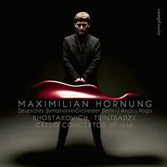Shostakovich / Hornung - Cello Concertos of 1966 [CD] USA import