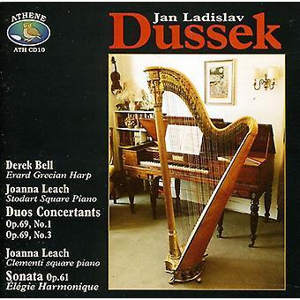 デレク ・ ベル ・ ジョアンナ リーチ - ドゥシーク: デュオ Concertants、Op.69/ソナタ、Op.61 [CD] アメリカ インポート