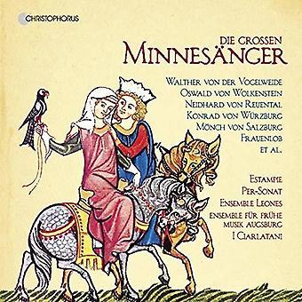 Various Artist - Die Grossen Minnesanger [CD] USA import