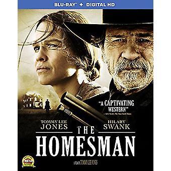 Homesman [BLU-RAY] USA import
