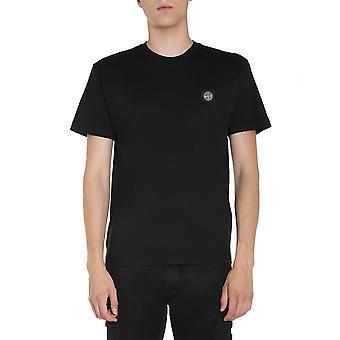 Stone Island 731524113v0029 Homme-apos;s T-shirt en coton noir