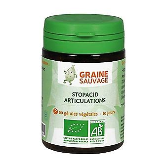 Stopacid ORGANIC Joints 60 vegetable capsules