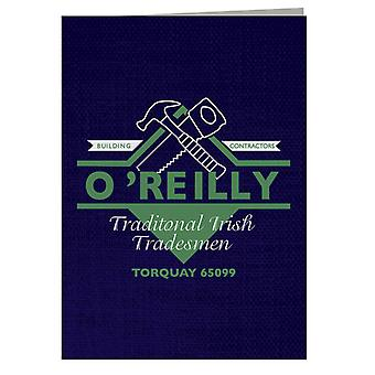 Oreilly Traditional Irish Tradesmen Torquay Fawlty Towers Greeting Card