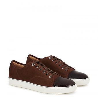 Lanvin Dbbi Suede Calfskin Sneaker