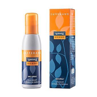 Deo Spray Homme Saffron 125 ml